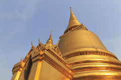 Gold stupa Royalty Free Stock Image