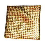 Gold style pillow Royalty Free Stock Image