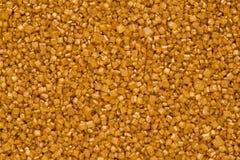Gold Sugar Crystals royalty free stock photos