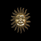 Gold Sun Royalty Free Stock Photo