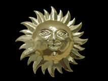 Gold sun Stock Images