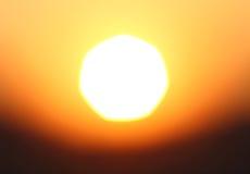 Gold sunset Stock Photo