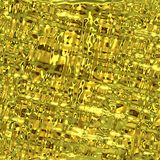 Gold surface texture Royalty Free Stock Images