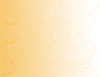 Gold Swirl Background Royalty Free Stock Photography
