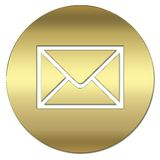 Gold symbol Royalty Free Stock Photo