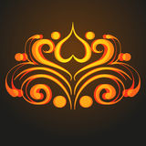 Gold symbol Royalty Free Stock Photography