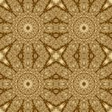 Gold symmetry pattern and geometric golden design,  textile kaleidoscopic. Gold symmetry pattern and geometric abstract golden design,  textile kaleidoscopic royalty free illustration