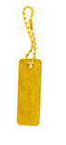 Gold tag Stock Images
