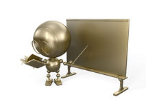 Gold teacher Stock Images