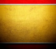 Gold template metal canvas background Royalty Free Stock Photography