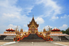 Gold temple. Stock Image