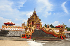 Gold temple. Royalty Free Stock Photos