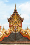 Gold temple. Gold temple in Thailand.It's very important Stock Photos