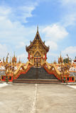 Gold temple. Stock Photo