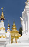 A gold temple Royalty Free Stock Photography