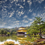 Gold Temple Japan Royalty Free Stock Image