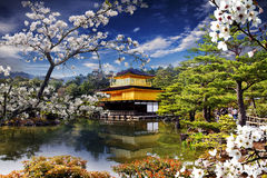 Gold Temple Japan Royalty Free Stock Photo