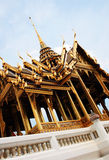 Gold temple in Thailand Royalty Free Stock Photos