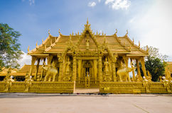 Gold Temple royalty free stock photography
