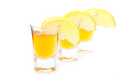 Gold Tequila Stock Images
