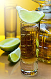 Gold tequila Stock Photos