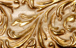 Gold tetxure Stock Photography