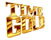 Gold text while gold on a white background. 3d illustration. Gold text while gold on a white background Stock Photos