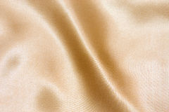 Gold textile background Stock Photos
