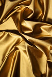 Gold textile Royalty Free Stock Photography
