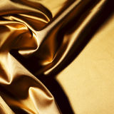 Gold textile Stock Photos