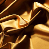Gold textile Royalty Free Stock Photo