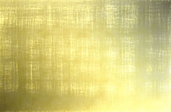 Gold texture. Metal plate Gold frame background Stock Photos