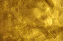 Gold Texture. Beautiful fine brushed golden texture Stock Images