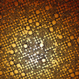 Gold Texture. Golden 3d texture royalty free illustration