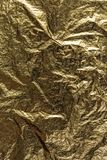 Gold texture. Abstract background, close up stock photo