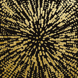 Gold texture. Abstract gold background. Golden glossy texture. Metal pattern. Abstract gold background stock illustration