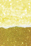 Gold texture. With abstract lights Royalty Free Stock Image