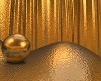 Gold texture / background Royalty Free Stock Image
