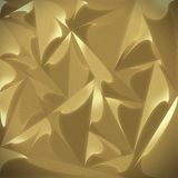 Gold texture - 3D pattern abstract - metallic. Gold Texture magnetic and shining Stock Photos