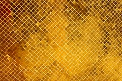Gold texture glitter abtract background. In an ancient temple, Thailand Bangkok Royalty Free Stock Photography