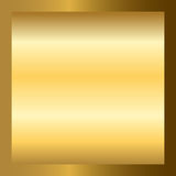 Gold texture square golden frame Stock Image