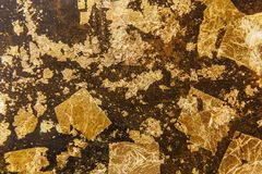 Gold textured background Royalty Free Stock Photos