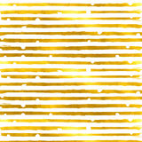 Gold textured seamless pattern of golden stripes Royalty Free Stock Image