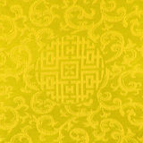Gold Thai fabric patter Royalty Free Stock Images