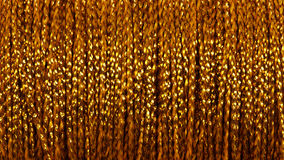 Gold thread - abstract background Royalty Free Stock Images