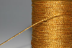 Gold thread Stock Photography