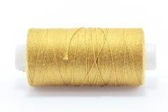 Gold Thread Stock Photo