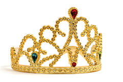 Gold Tiara Stock Photo
