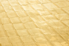Gold tile background Royalty Free Stock Photos
