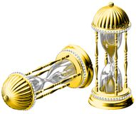 Gold time Stock Image